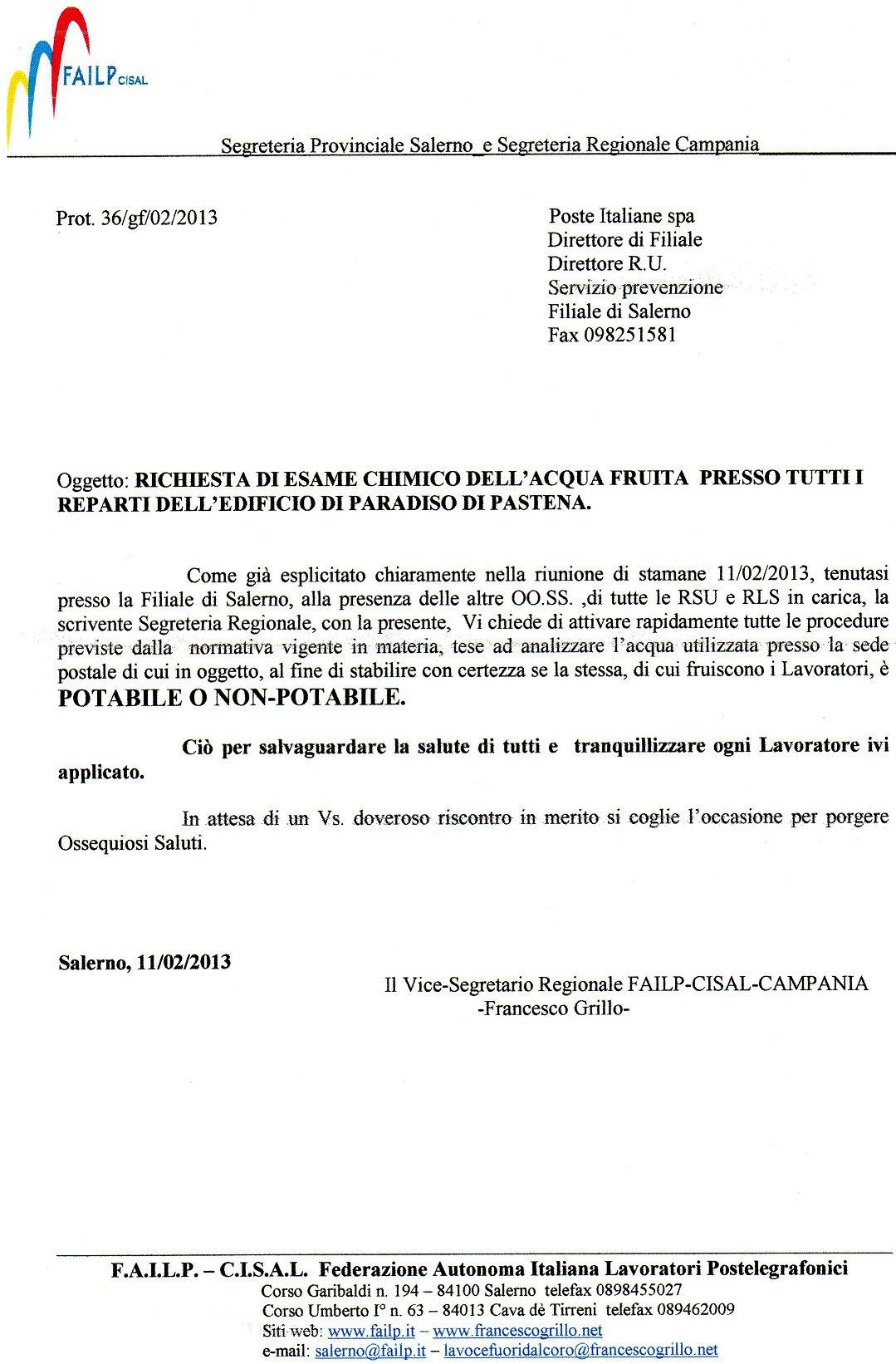 Francesco Grillo - L'informazione dalla parte dei lavoratori